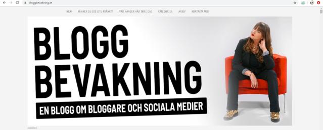 bloggbevakning